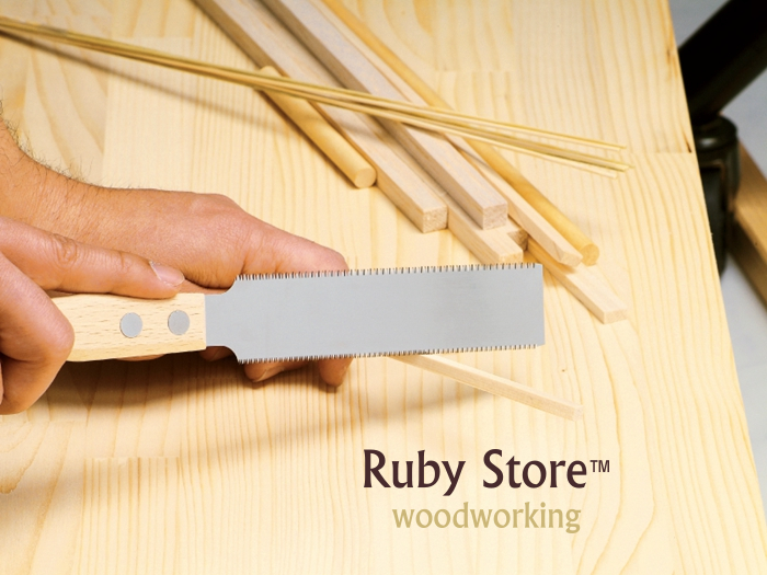 Tools : Gyokucho  1151  RAZORSAW Flush Cutting Saw Double Edges Japanese saw Made in Japan Fine Woodworking