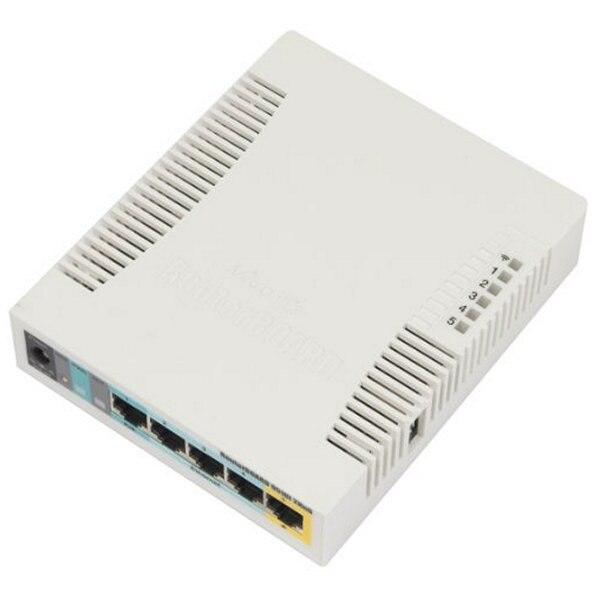 Point d'accès Mikrotik RB951UI-2HND AP 2.4 GHz 5 Eth 600 MHz 128 M