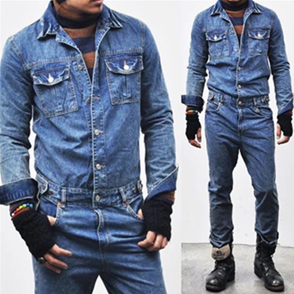 Overalls Jeans Denim LOTFEEL