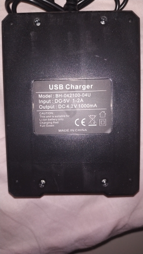 Battery (3 Pack)+ Charger - Clear Vision Scope photo review