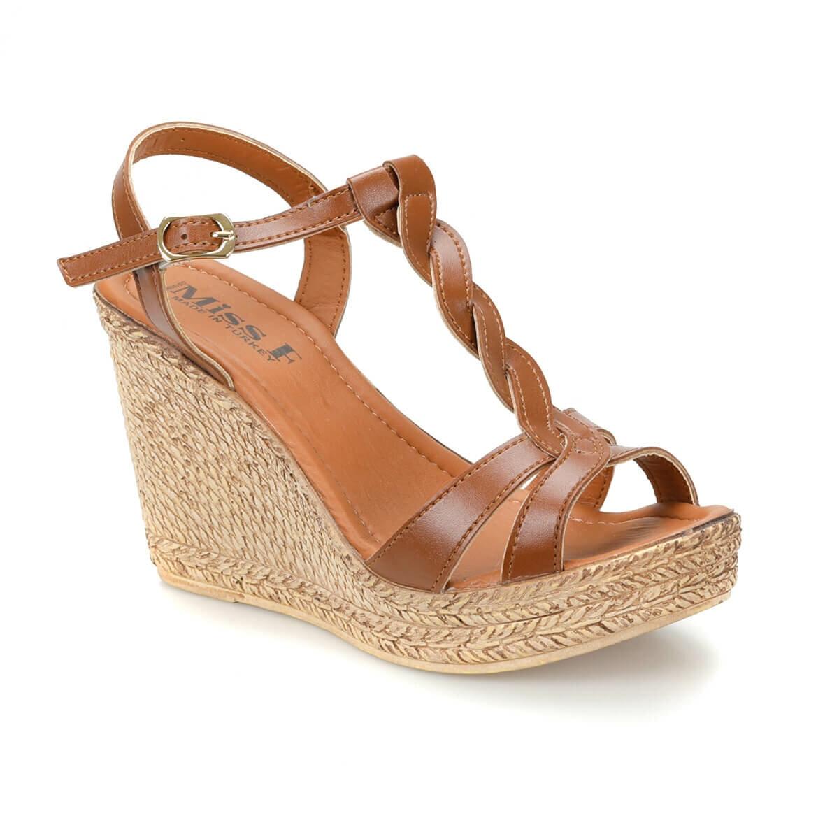 FLO DS18096-19S Tan Women 'S Sandals Miss F