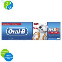 Детская зубная паста Oral-B Junior 6+ Звездные Войны, 75 мл