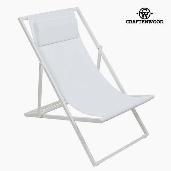 Garden Chair Aluminium Textilene White