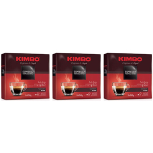 Kimbo kit ground coffee-3 pack-Espresso Neapolitan