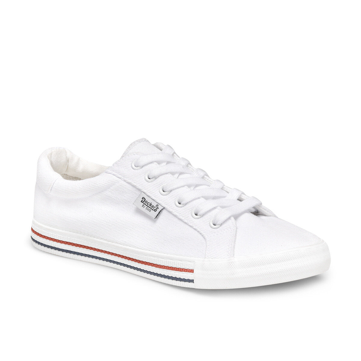 FLO 224554 White Male Sneaker By Dockers The Gerle