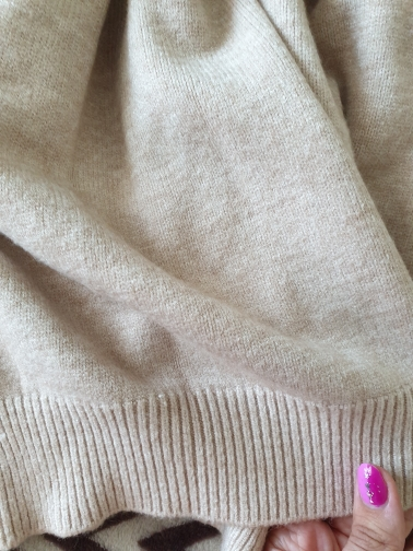 WYWM Cashmere Elegant Women Sweater Oversized Knitted Basic Pullovers O Neck Loose Soft Female Knitwear Jumper photo review