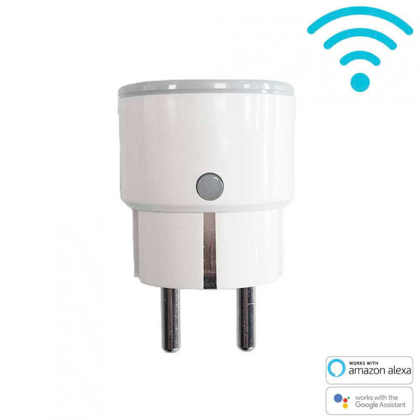 Smart Plug WiFi Compact Checkpoint Via Smartphone/APP 7hSevenOn Home