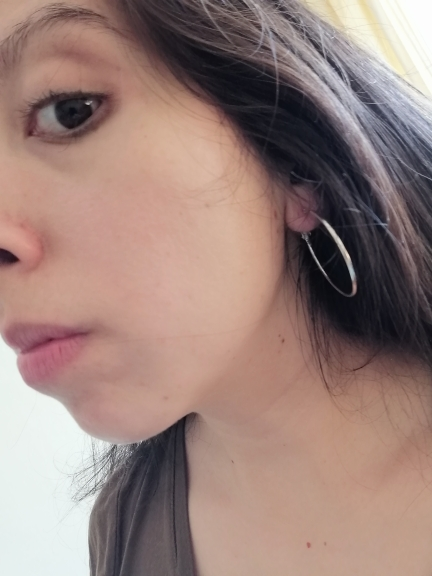 6Pairs /12Pairs Punk Hoop Earrings Set Big Circle Earrings Jewelry for Women Girls Steampunk Ear Clip Punk Earring Ear Ring photo review