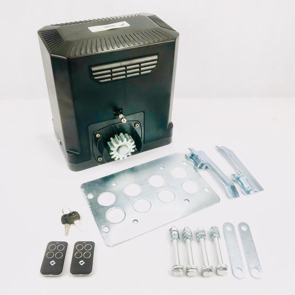 Gate Sliding Gate Home Gate JY-600DCP Operator Kit With Control Unit And 2 Remote Controls, Mounting Plate. 24V Engine.