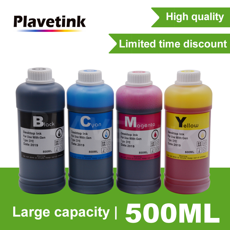 Plavetink 500ml Bottle Printer Ink Refill Kit For HP <font><b>564</b></font> <font><b>XL</b></font> PhotoSmart 5510 5512 5514 5515 5520 5522 5524 5525 6510 Cartridges image