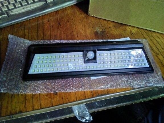 Lâmpadas solares Sensor Movimento Lâmpada