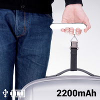 Suitcase Scales with Power Bank 2200 mAh 145336 Power Bank Accessories Cellphones & Telecommunications -
