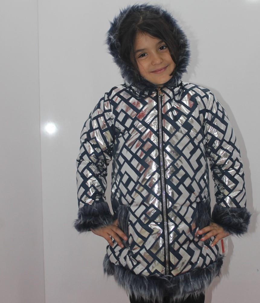 Badebaby Kız Çocuk L Şekilli Kaban 2-8 Yaş 0711
