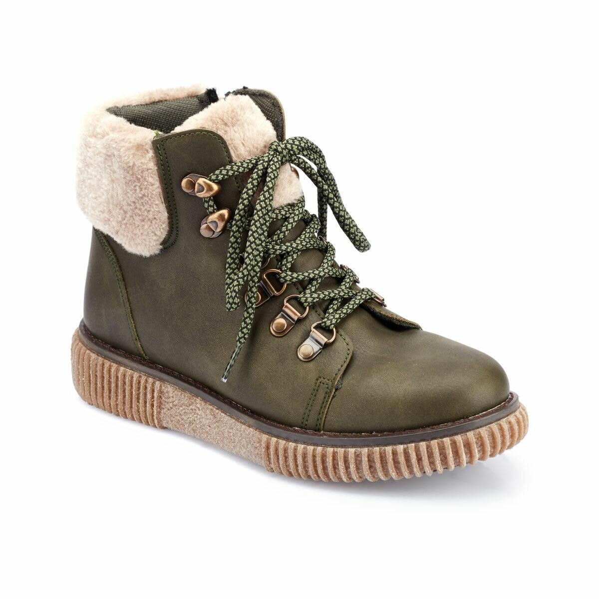 FLO 82.312386.Z Khaki Women 'S Boots Polaris