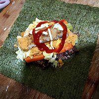 紫菜包饭的做法图解7