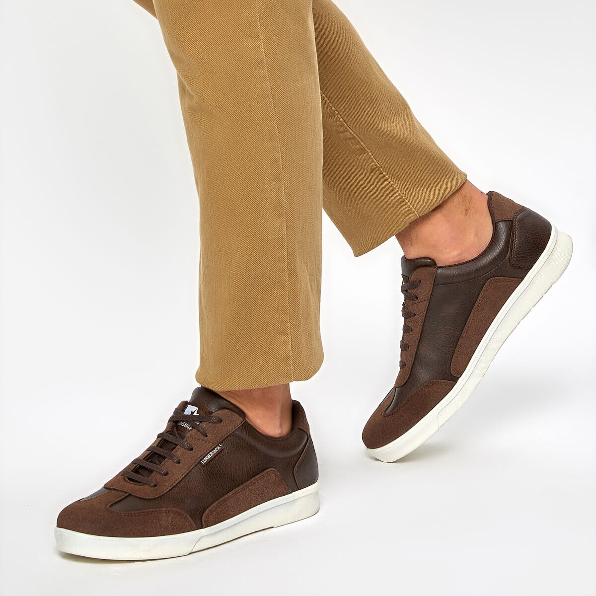 FLO RILEY 9PR Brown Men 'S Sneaker Shoes LUMBERJACK