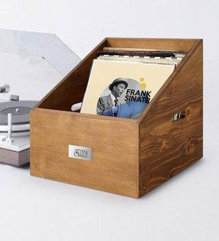 Personalized Retro Wooden Plaque Box