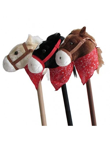 HORSE HEAD WITH STICK C/SOUNDS STDO