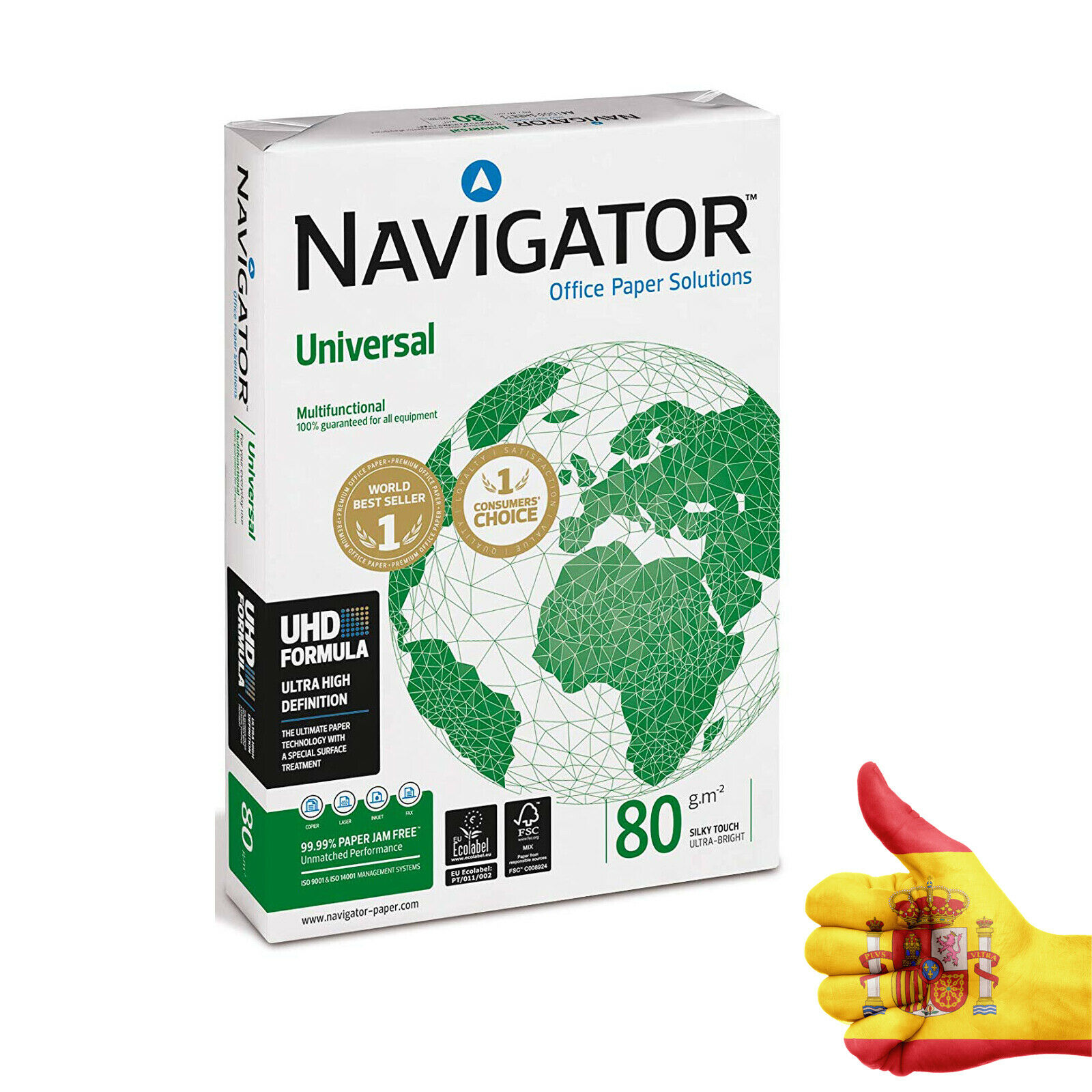 500 Stock Sheets Photo Navigator A4's Paper For Inkjet Printer Supplies From Images Printout