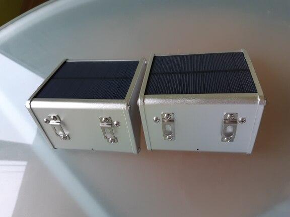 Lâmpadas solares Jardim Emissor Sensor