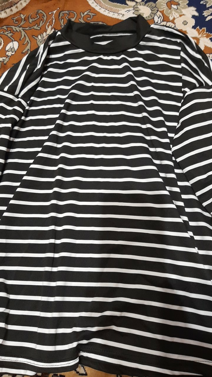 Korean Style Crop Top Turtleneck Long Sleeved photo review