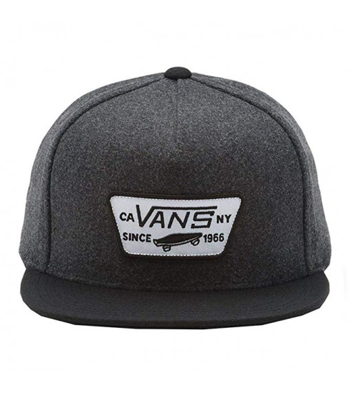 <font><b>Vans</b></font> Full <font><b>Patch</b></font> Snapba Asphalt cap, gray/black, VN000QPU1O71 image