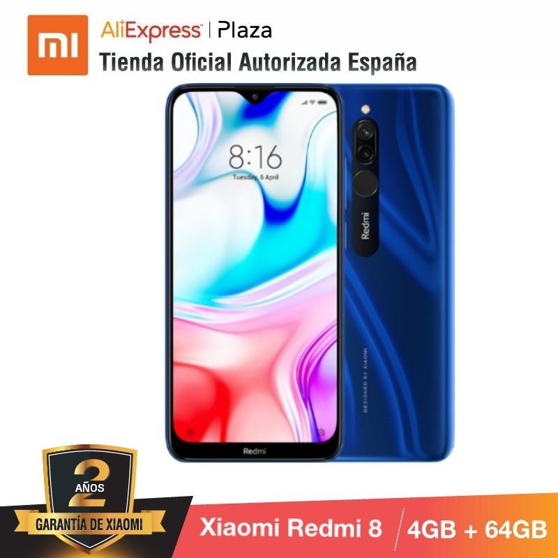 Legend Coupon Xiaomi-Redmi-8-64GB-ROM-con-4GB-RAM-Cámara-de-12MP-Android-Nuevo-Móvil-Teléfono-Móvil Smart phone