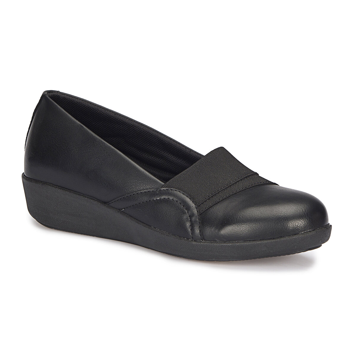 FLO 72.110026CZ Black Women Shoes Polaris