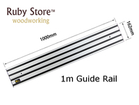 1m Aluminium Guide Rail Track for Track Saw|Hand Tool Sets| |  -