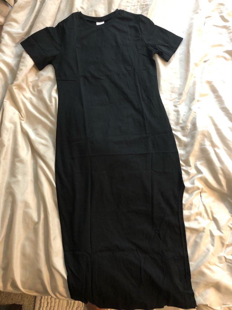 Maxi Shirt Dress Women Autumn Winter Casual Beach Sexy Boho Christmas Vintage Bandage Bodycon Wrap Black Long Dresses Plus Size photo review