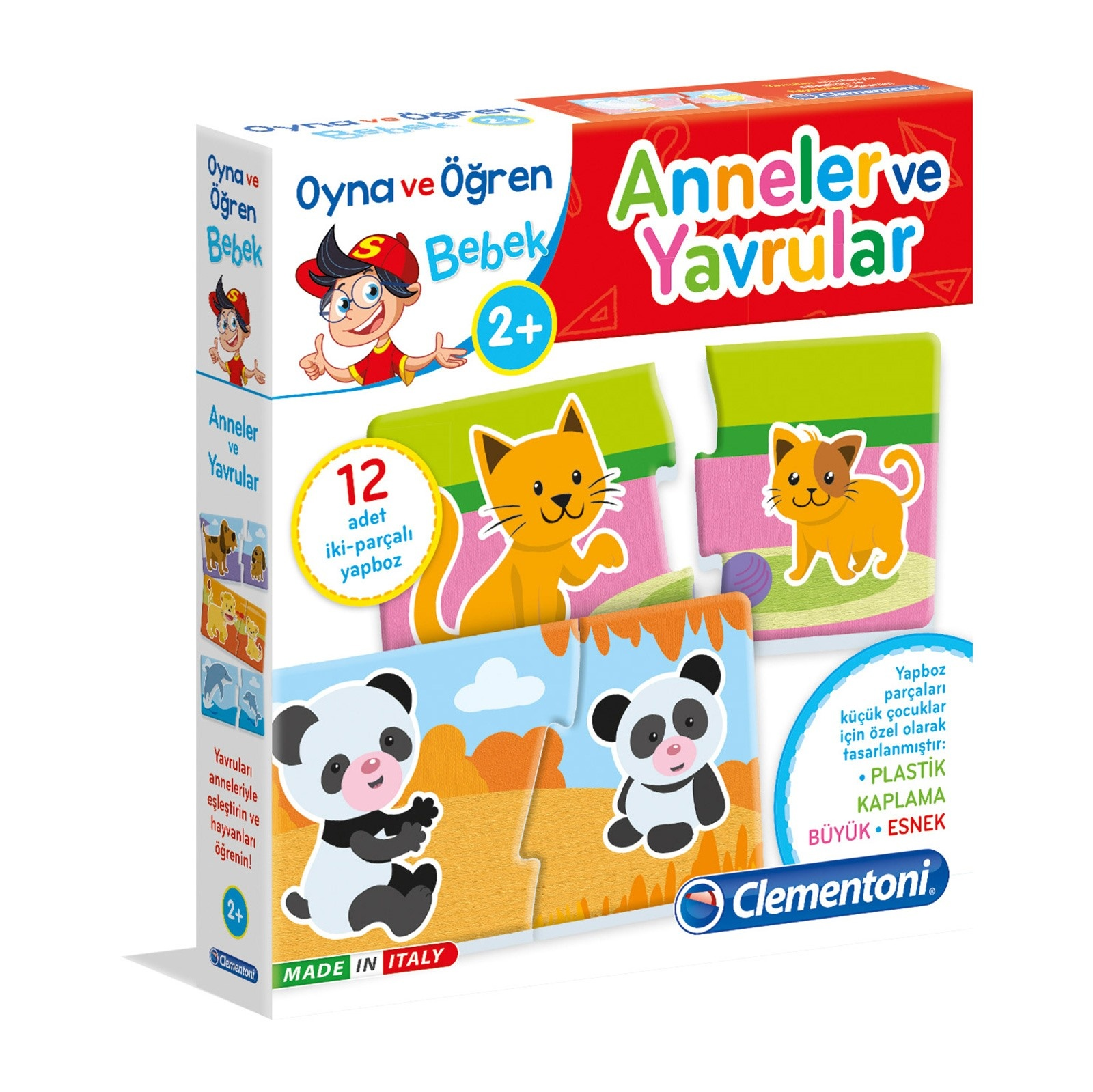 Ebebek Clementoni Play And Learn Mothers Puppies