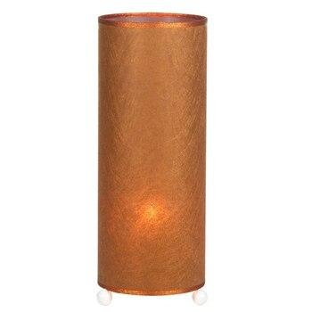 Schreibtisch Lampe Kupfer Cellulose (15x15x37 Cm) Durch Glanz Inline