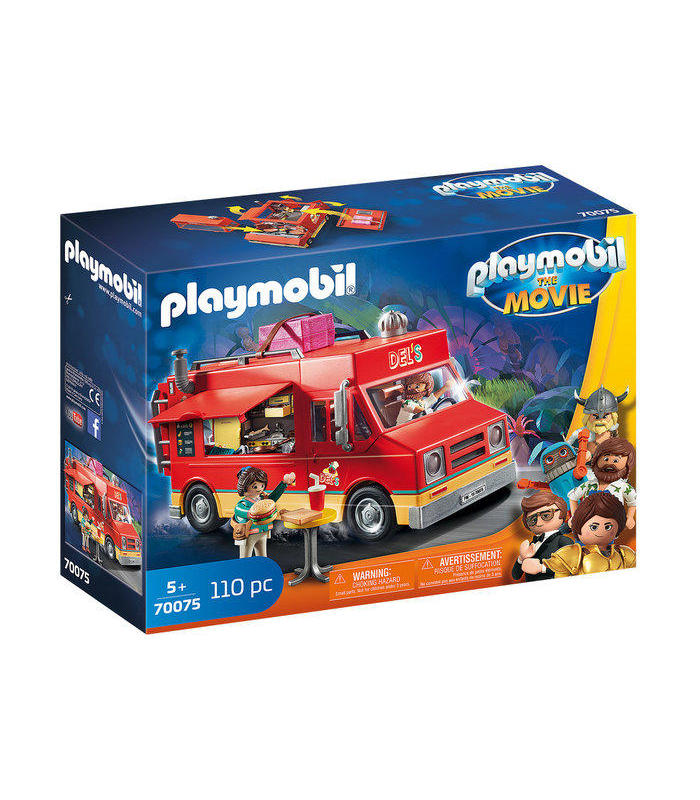 Playmobil 70075 The Movie Food Truck From The Toy Store