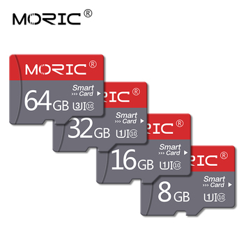 Moric Micro sd card Memory Card 128GB Micro SD 32GB 64GB Class 10 high speed 8GB 16GB Micro sd card mini TF Card Tarjeta SD card image
