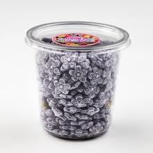 Bateau violets l'asturiana-petit bidon avec 500 gr, avec de l'essence de violette authentique, sans gluten, classique doux madrileño