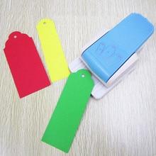 Perforadora de etiquetas 3 en 1 para manualidades, marcador de libros, perforadora de bordes, papel y cortador de tarjetas para álbumes de recortes y decoración, 1 pieza, Envío Gratis