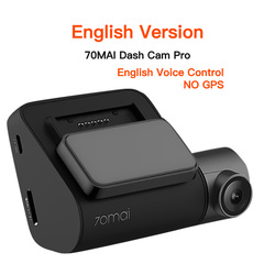 Original 70mai Dash Cam Pro English Voice Control 1944P 70MAI Car DVR Camera GPS ADAS 140FOV Night Vision 24H Parking Monitor