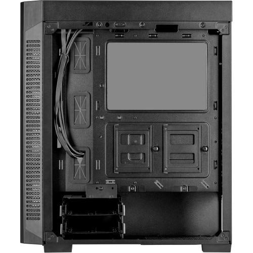 Corsair 110R Tempered Glass Mid Tower ATX Computer case CC-9011183-WW 3