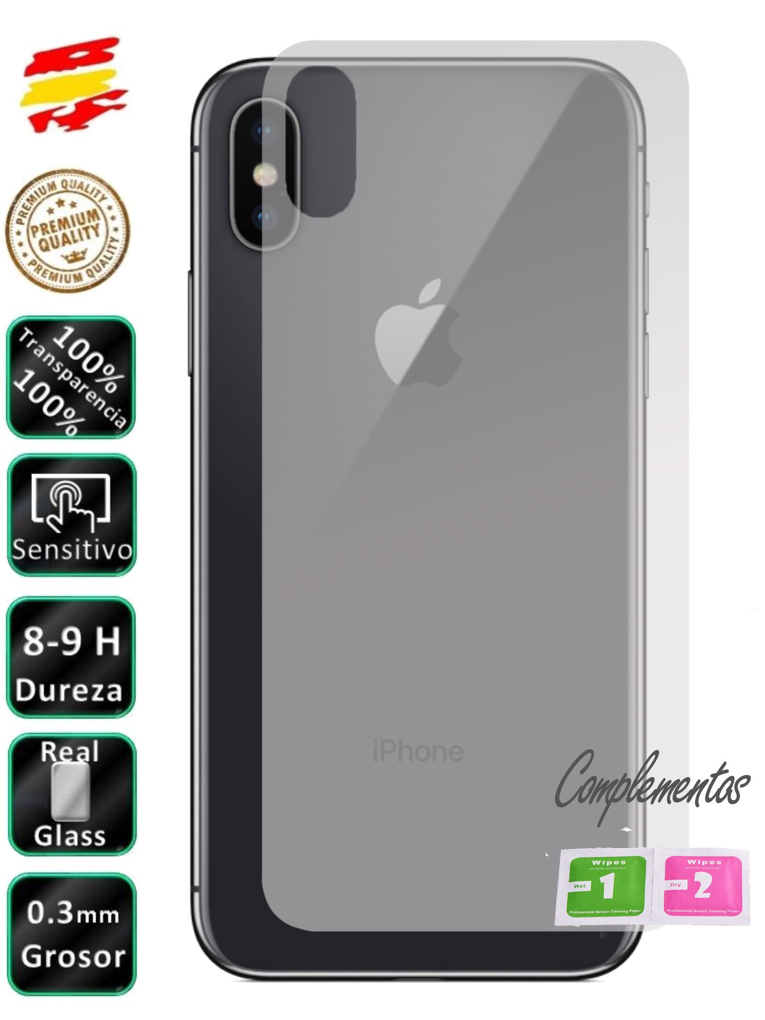 Protective Apple Iphone X 10 Rear Tempered Glass Screen Glass Mobile