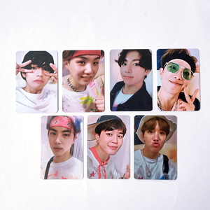 KPOP 7pcs/set Bangtan Boys 5th Muster Magic Shop DVD LOMO Card Photocard JUNG KOOK JIMIN JIN SUGA J-HOPE Fans Collection wj234