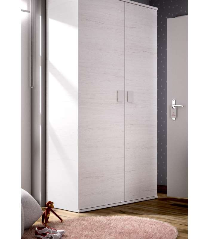Wardrobe 2 Doors Casement Ocean 90 Cm Wide