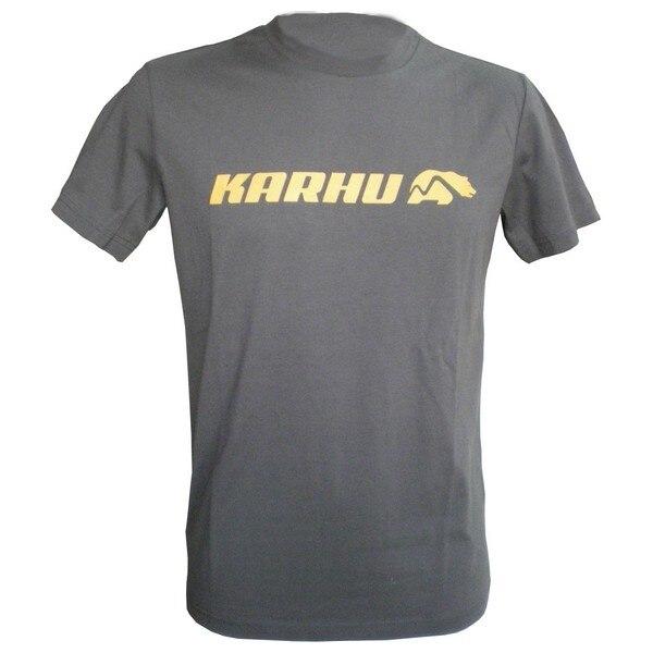 Men's Short Sleeve T-Shirt Karhu T-PROMO 2 Grey (Size S)