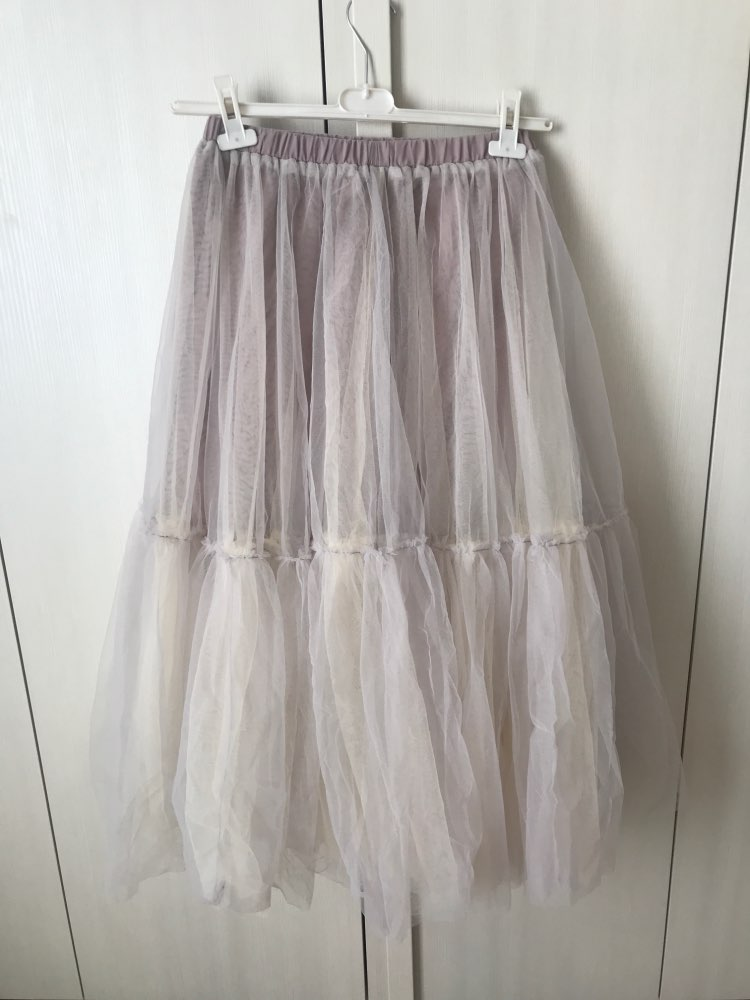 Runway Luxury Women Black Skirt Fashion Elastic Waist Ball Gown Mesh Skirts Female Long Voile Maxi Skirts Jupe Longue photo review