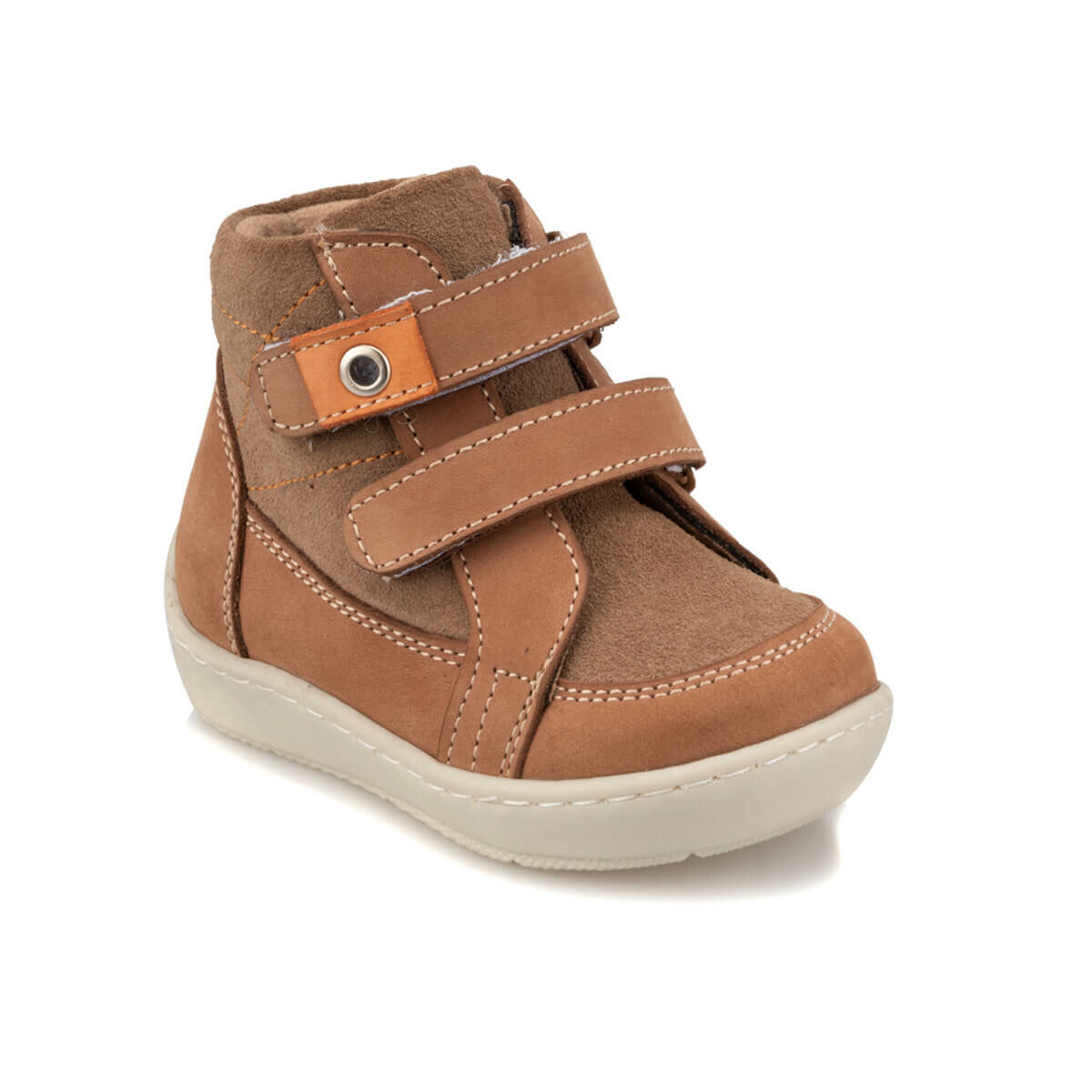 FLO 92.512016.I Sand Color Male Child Boots Polaris