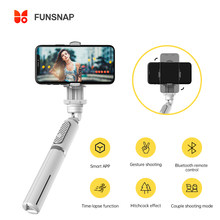 FUNSNAP Smartphone Gimbal Capture Q Handheld Camera Stabilizers All-in-one Universal Tripod for Vlog Live Portable Gimbal