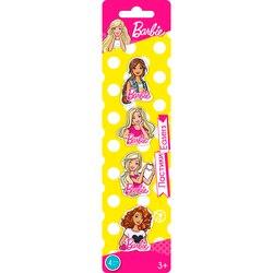 Ластики Barbie фигурные коллекционные 4 шт