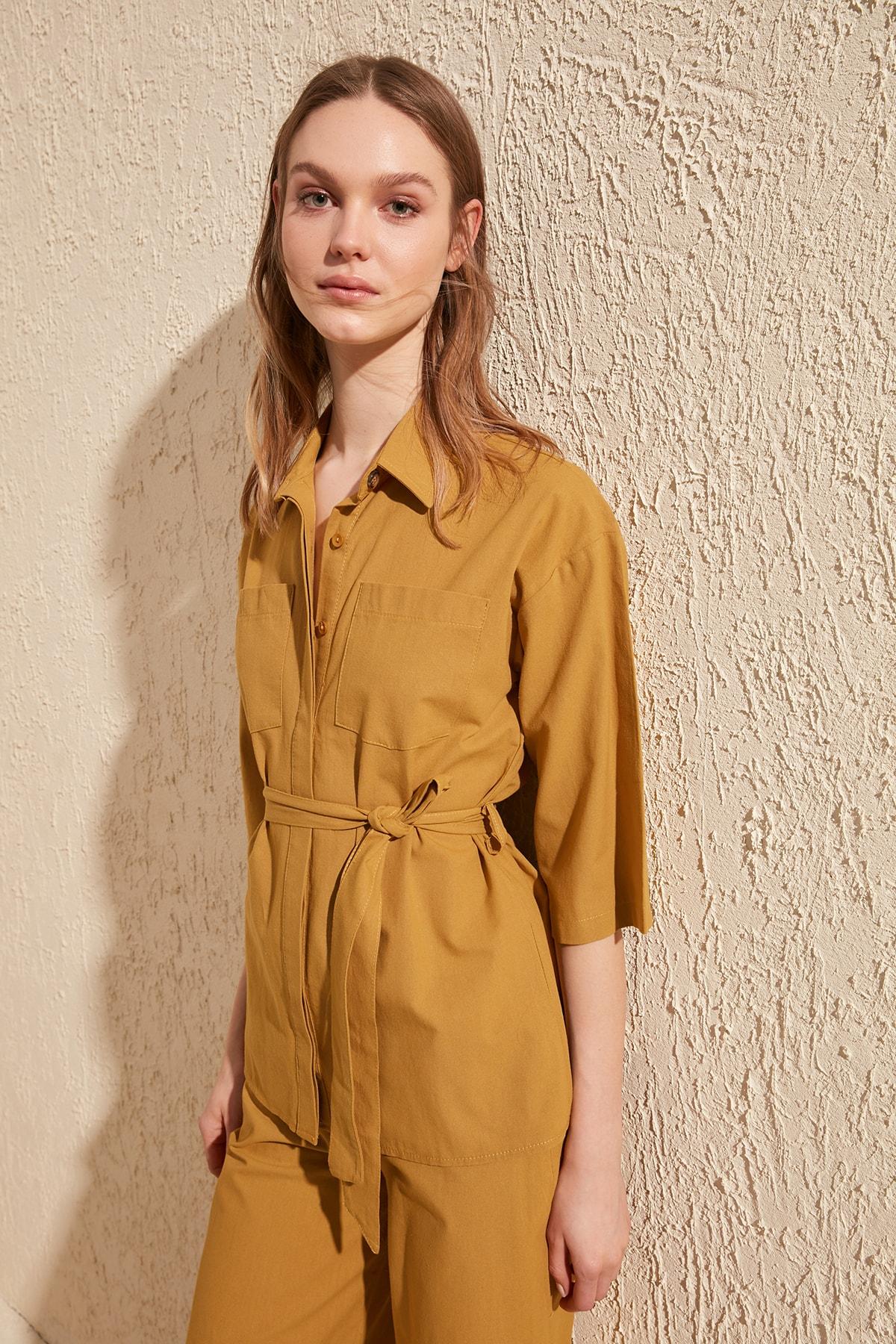 Trendyol Long Shirt TWOSS20GO0061