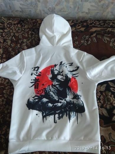 Akatsuki Itachi Hoodies Jacket Men 3D photo review
