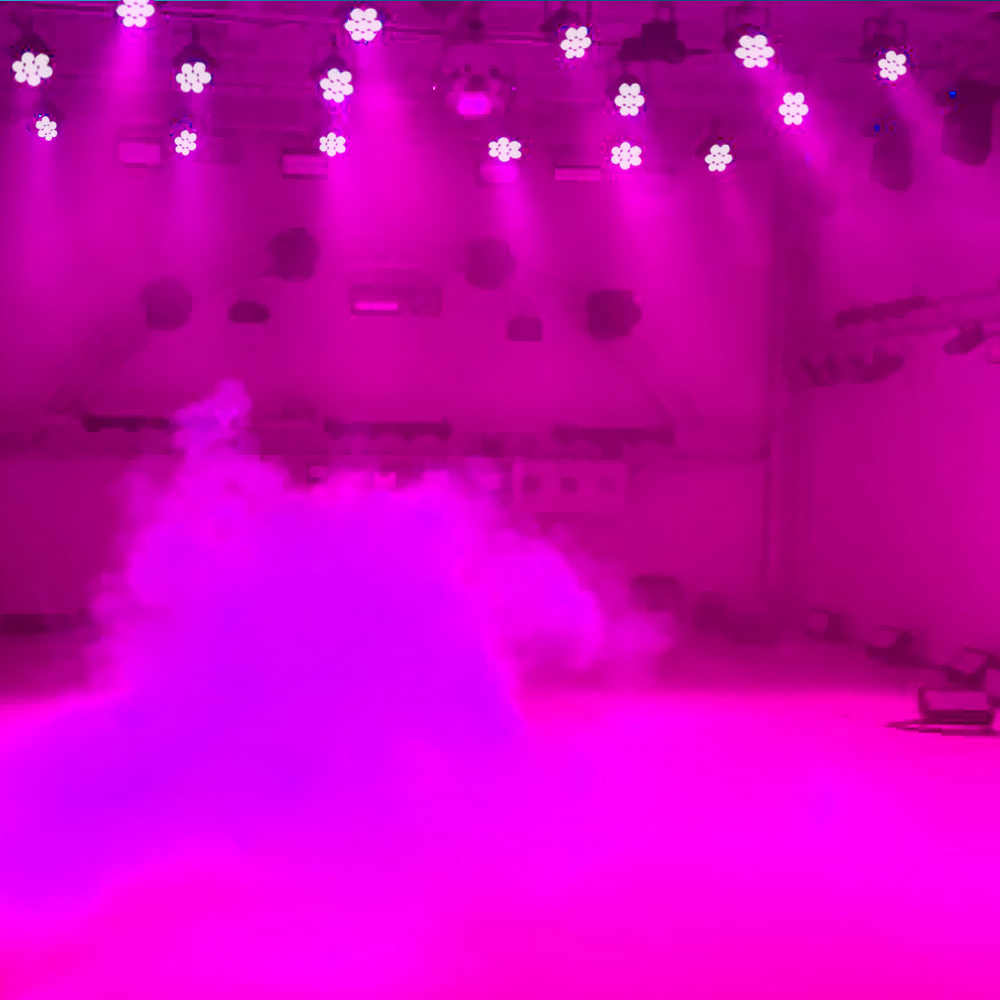 7LED 105W RGBW 9/14 ערוץ DMX512 מיני מסתובב ראש נע שלב אור אפקט מנורת Dj אור דיסקו מקורה KTV מועדון המפלגה