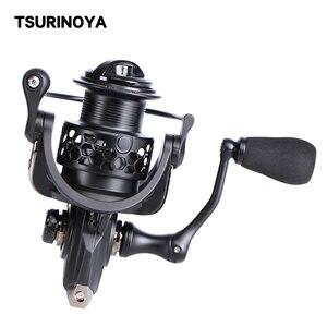TSURINOYA NA 2000 3000 4000 5000 9BB 5.2:1 Grae Ratio Saltwater Fishing Reels Lightweight Spinning Fishing Reel Long shot(China)
